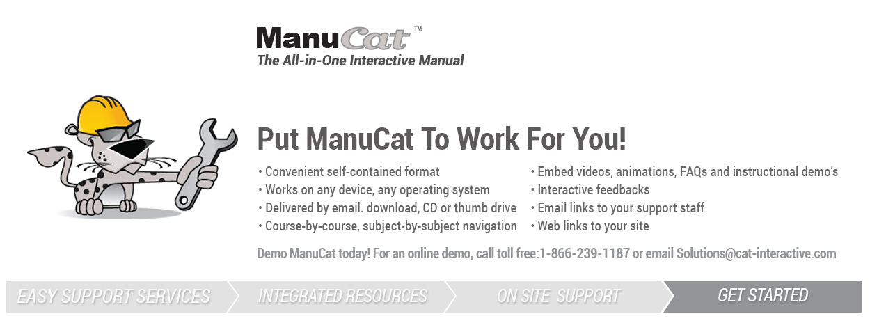 Request a ManuCat Demo