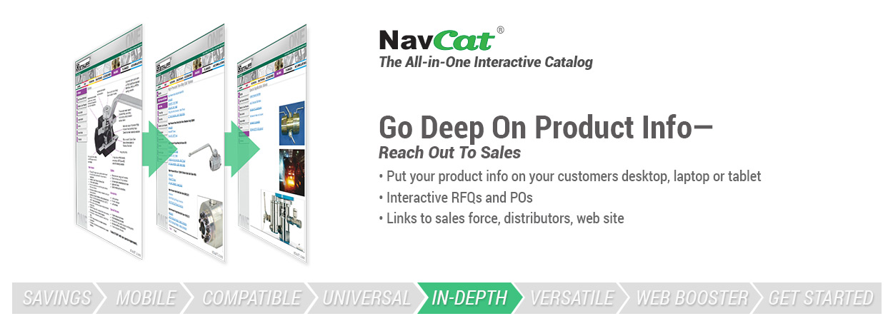 Go deep on product info - reach out to sales