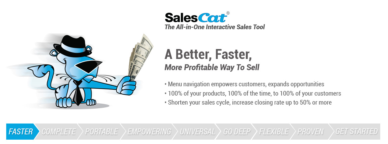 A better, faster, more profitable way to sell