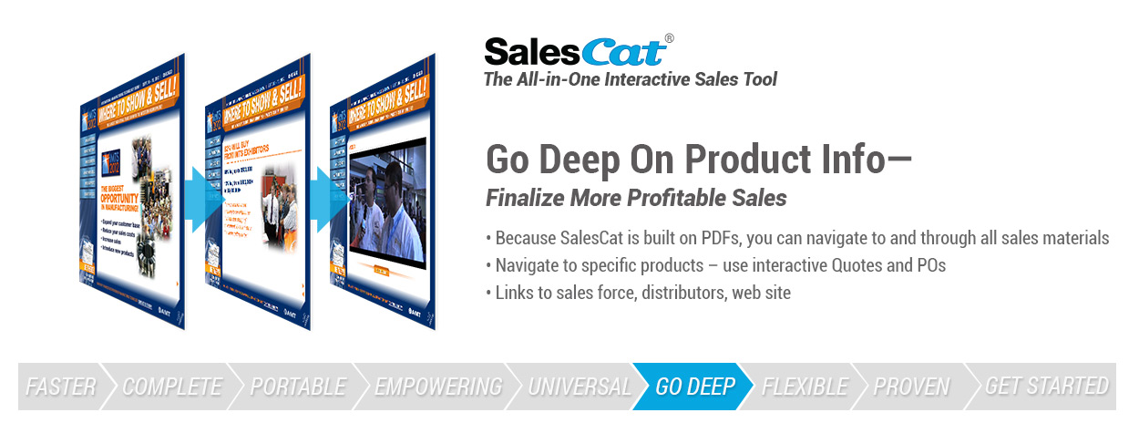 Go deep on product info - finalize more profitable sales